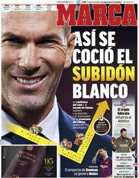 capa Jornal Marca de 26 outubro 2020