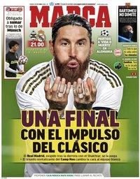 capa Jornal Marca de 27 outubro 2020