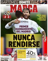capa Jornal Marca de 28 outubro 2020