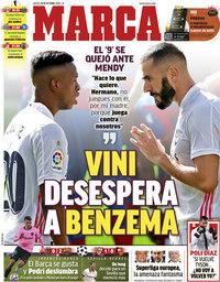 capa Jornal Marca de 29 outubro 2020
