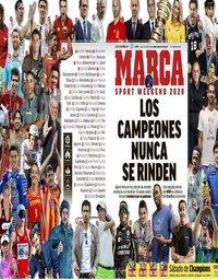 capa Jornal Marca de 31 outubro 2020