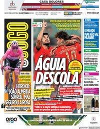 capa Jornal O Jogo de 19 outubro 2020