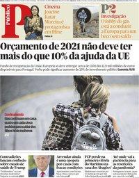 capa Público de 4 outubro 2020