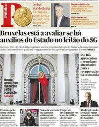 capa Público de 6 outubro 2020