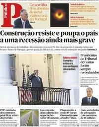 capa Público de 7 outubro 2020