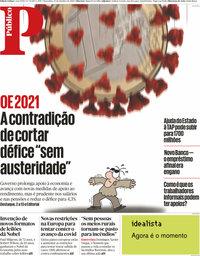 capa Público de 13 outubro 2020