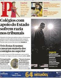 capa Público de 19 outubro 2020