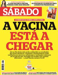 capa Revista Sábado de 22 outubro 2020