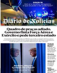capa Diário de Notícias de 9 novembro 2020