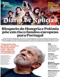 capa Diário de Notícias de 17 novembro 2020