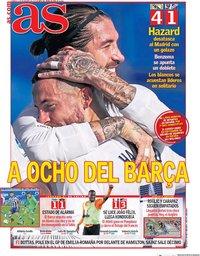 capa Jornal As de 1 novembro 2020