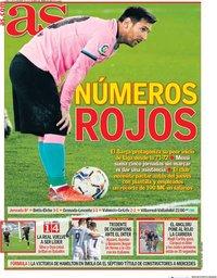 capa Jornal As de 2 novembro 2020