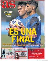 capa Jornal As de 3 novembro 2020