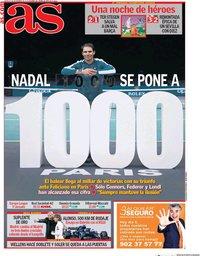 capa Jornal As de 5 novembro 2020