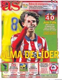 capa Jornal As de 8 novembro 2020