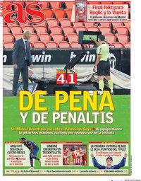 capa Jornal As de 9 novembro 2020