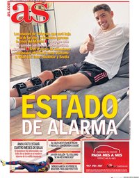 capa Jornal As de 10 novembro 2020
