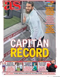 capa Jornal As de 11 novembro 2020