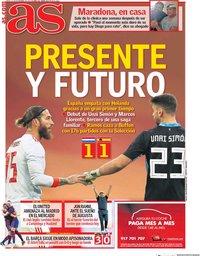 capa Jornal As de 12 novembro 2020