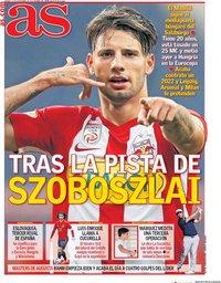 capa Jornal As de 13 novembro 2020