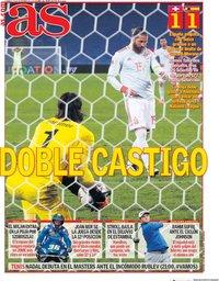 capa Jornal As de 15 novembro 2020