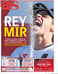 capa Jornal As de 16 novembro 2020
