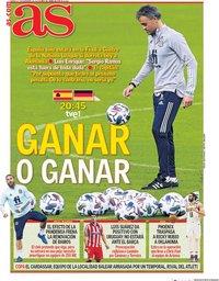 capa Jornal As de 17 novembro 2020
