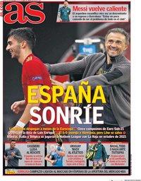 capa Jornal As de 19 novembro 2020