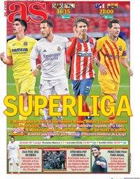 capa Jornal As de 21 novembro 2020