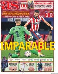 capa Jornal As de 22 novembro 2020