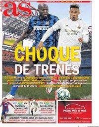 capa Jornal As de 24 novembro 2020