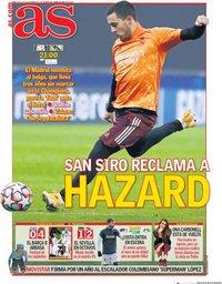 capa Jornal As de 25 novembro 2020