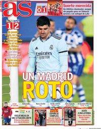 capa Jornal As de 29 novembro 2020