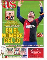 capa Jornal As de 30 novembro 2020