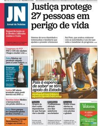 capa Jornal de Notícias de 24 novembro 2020