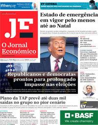 capa Jornal Económico de 6 novembro 2020