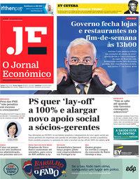 capa Jornal Económico de 13 novembro 2020