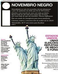 capa Jornal i de 3 novembro 2020