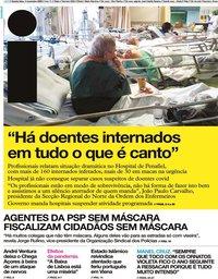capa Jornal i de 4 novembro 2020