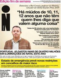 capa Jornal i de 6 novembro 2020