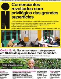 capa Jornal i de 12 novembro 2020