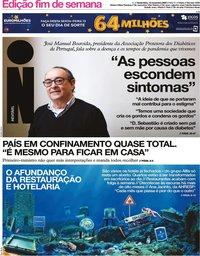 capa Jornal i de 13 novembro 2020