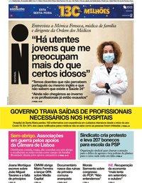 capa Jornal i de 19 novembro 2020