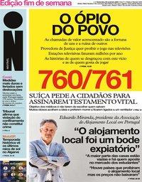 capa Jornal i de 20 novembro 2020