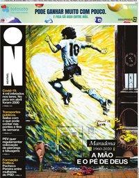 capa Jornal i de 26 novembro 2020