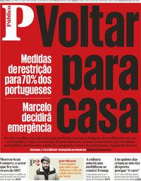 capa Público de 1 novembro 2020