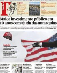 capa Público de 2 novembro 2020