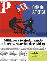 capa Público de 3 novembro 2020