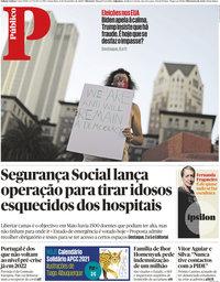 capa Público de 6 novembro 2020