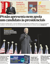 capa Público de 7 novembro 2020